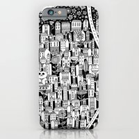 iPhone & iPod Case featuring small town by Asja Boros