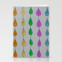 Candy Raindrops Stationery Cards