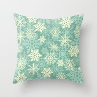 Snowflakes #1 Throw Pillow