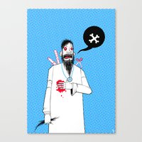 Rasputins Last Gasp Canvas Print
