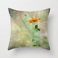 Triangle Design Farewell Throw Pillow