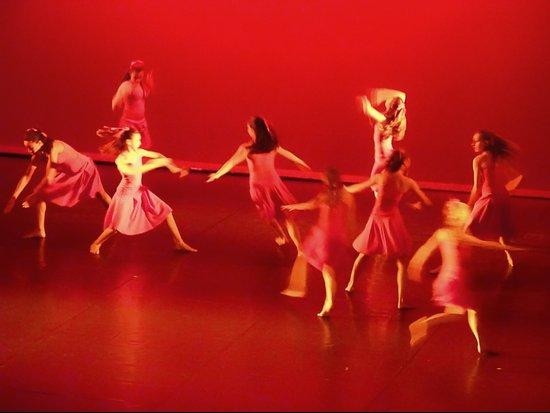 Dance RED Art Print