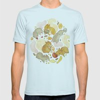 Things Squirrels Probabl… Mens Fitted Tee Light Blue SMALL