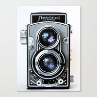 Flexaret Vinatge Camera Canvas Print