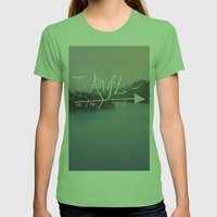The Aim Of Life II Womens Fitted Tee Grass SMALL