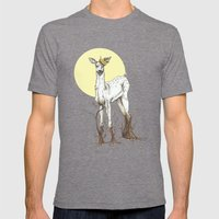 Doe Tree Mens Fitted Tee Tri-Grey SMALL