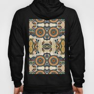 Indian Feather Pattern Hoody