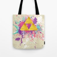 Splash Triforce Tote Bag