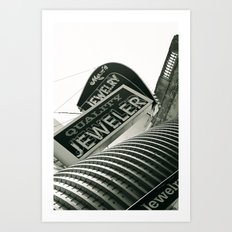 Columbus.  Art Print