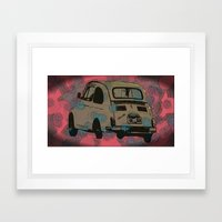 Who's gonna drive you home? Framed Art Print