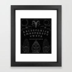 OUIJA Framed Art Print
