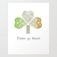 Ireland Forever Art Print