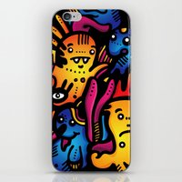 Monsterdelia iPhone & iPod Skin
