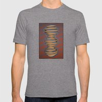 Re-metric Mens Fitted Tee Tri-Grey SMALL