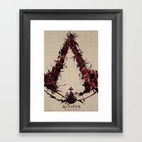 Assassin's Creed Saga Framed Art Print