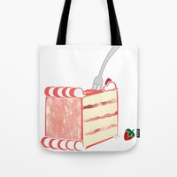 Creative Strawberry Shor… Tote Bag