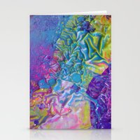 Wet Paint Blob Stationery Cards