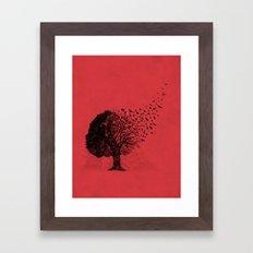 Autumn Birds Framed Art Print