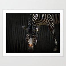 Stripes on Stripes Art Print