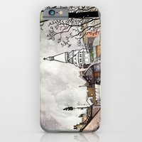 iPhone & iPod Case featuring Sacre-Coeur by Samantha Groenestyn
