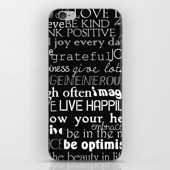 Inspirational Words iPhone & iPod Skin