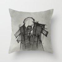 Wraith III. Throw Pillow
