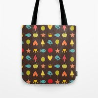 Happy pattern Tote Bag