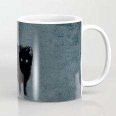 Cat and bird friends! Mug