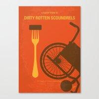 No536 My Dirty Rotten Sc… Canvas Print