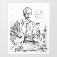 Rhiannon Art Print