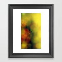 Groovy Grass Framed Art Print