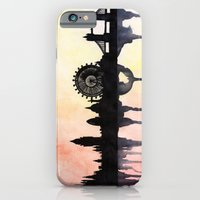 London Watercolour Skyline iPhone 6 Slim Case