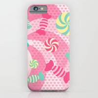iPhone Cases featuring Pastel Sugar Crush by XOOXOO