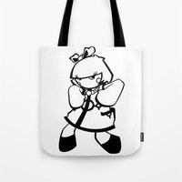 kawaii doll stance Tote Bag