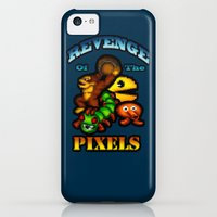 iPhone Cases featuring Pixeled by Cherishduhh