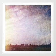 Canvas Horizon Art Print