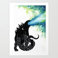 Urban Monster Art Print