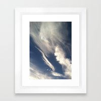 Wing It Framed Art Print