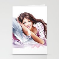 The Girl On The Pillow Stationery Cards