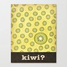 kiwi? Canvas Print