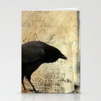 Crow Caws Stationery Cards