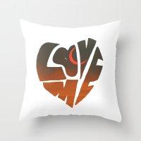 loveme Throw Pillow