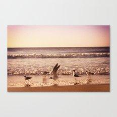 Cross the Ocean Canvas Print