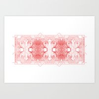 The Willow Pattern (Rose… Art Print