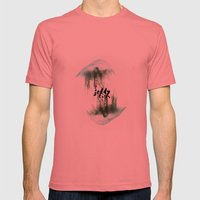 Jellyfish Mens Fitted Tee Pomegranate SMALL
