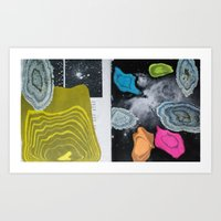 Universal Patterns Art Print