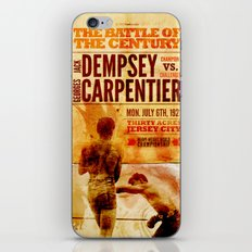The battle of the century iPhone & iPod Skin