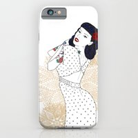 iPhone & iPod Case featuring Girl  by Marica Zottino