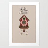 Cuckoo Clock Art Print