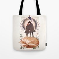 Fable Of Mulder And Scul… Tote Bag